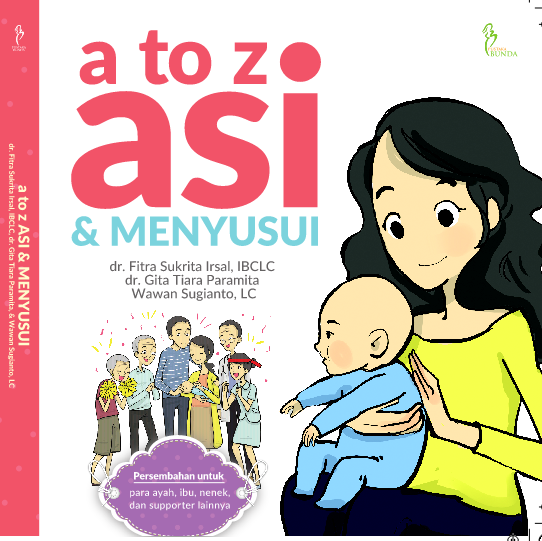 Cover Buku a to Z ASI & Menyusui